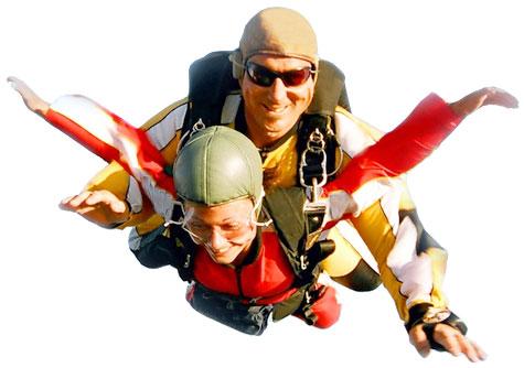 Skydivers raising money for Antibiotic Research UK