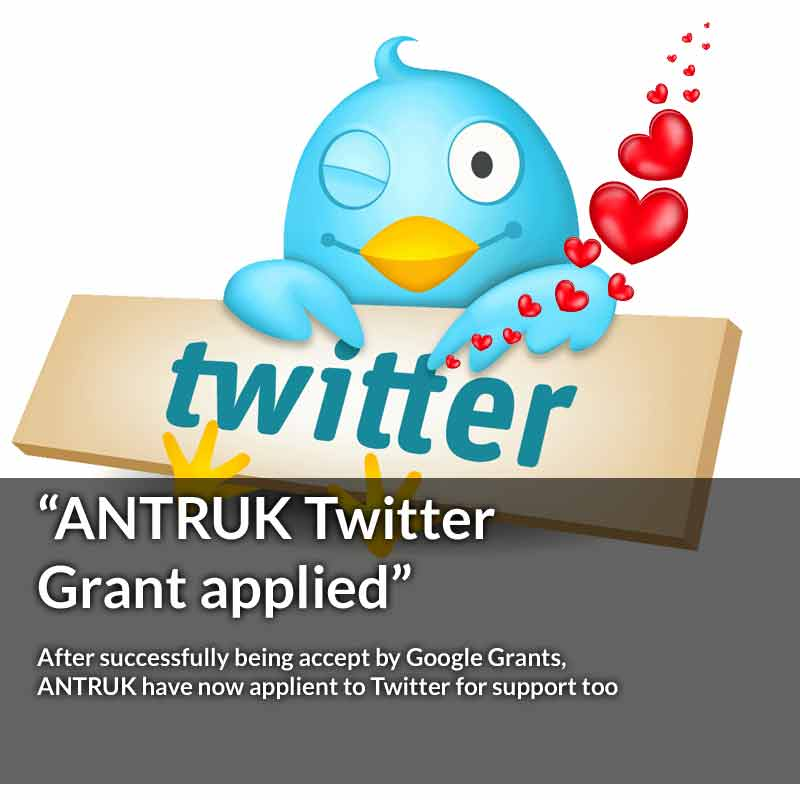 Antibiotic Research UK have applied for a Twitter grant to help them fight antibiotic resistant bacteria