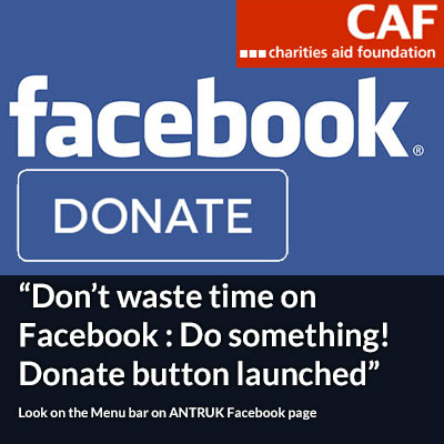 Antibiotic Research UK Launches Facebook Donate Button powered by Charities Aid Foundation (CAF)