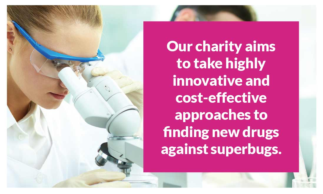 Antibiotic Research UK - Our charity aims to take a highly innovative and cost-effective approaches to finding new drugs against superbugs