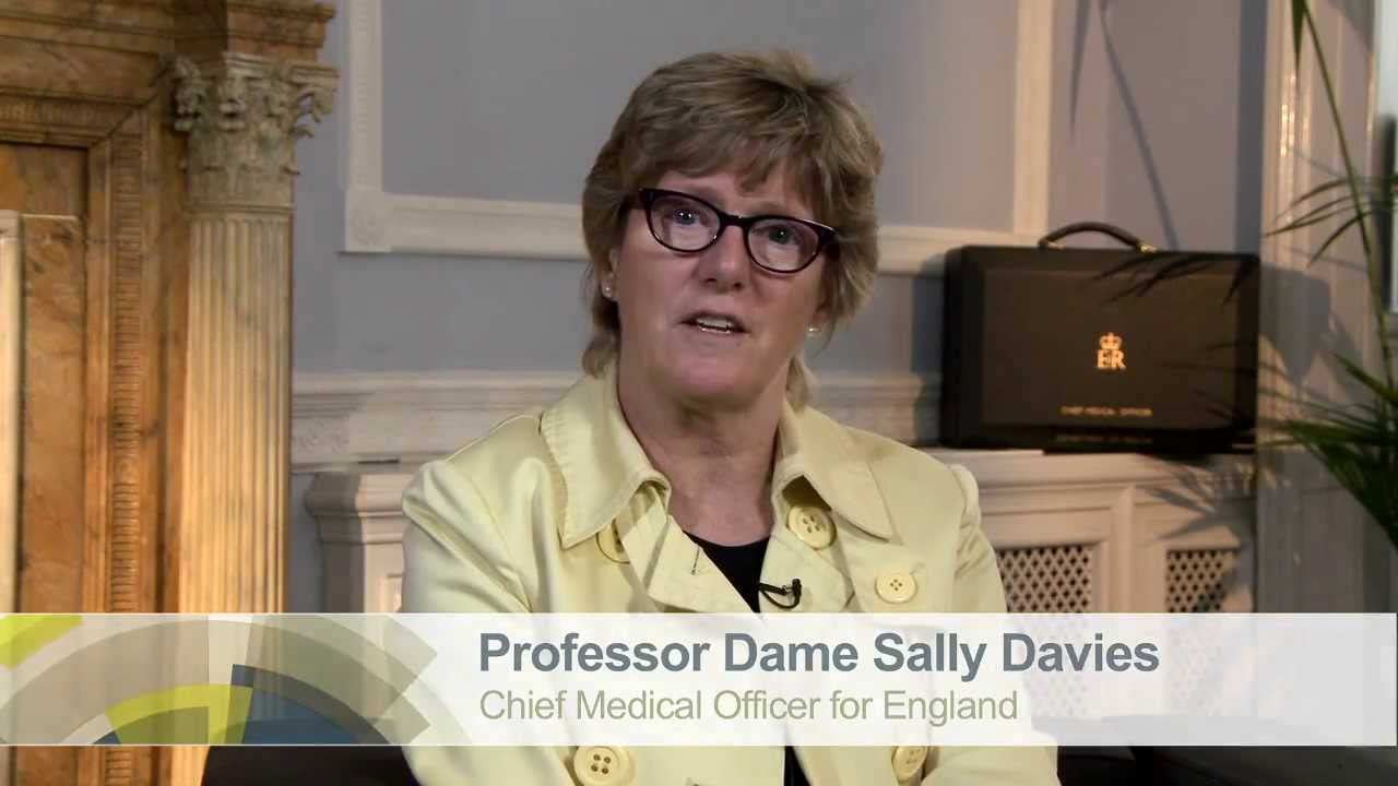 Professor Dame Sally Davies reports directly to the Prime Minister David Cameron and endorses the work Antibiotic Research UK are currently doing