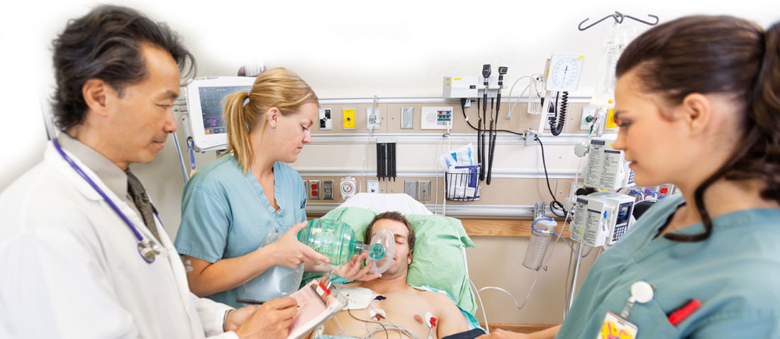 Patient ill in hospital fighting antibiotic resitant infection