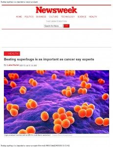 Beating superbugs is as important as cancer say experts Newsweek 080515_Page_1