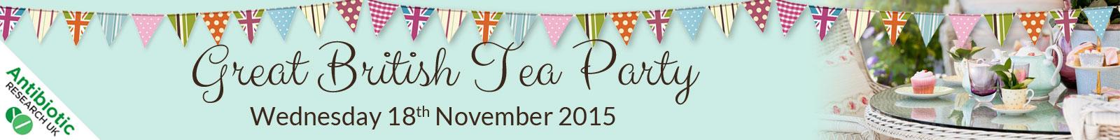 Antibiotic Research UK Great British Tea Party 2015