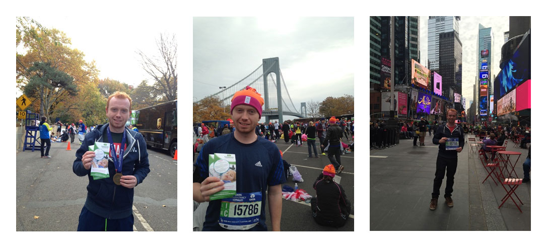 Greg Beckett completes New York Marathon 2015 for ANTRUK
