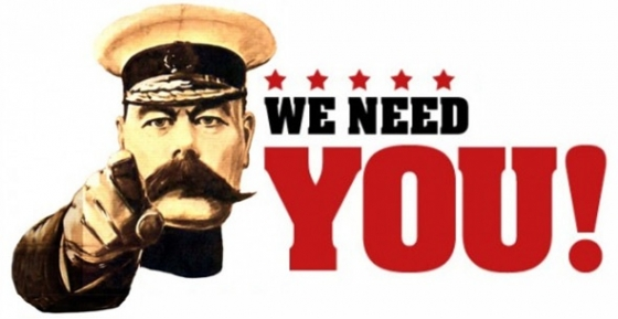 Image result for we need you volunteers