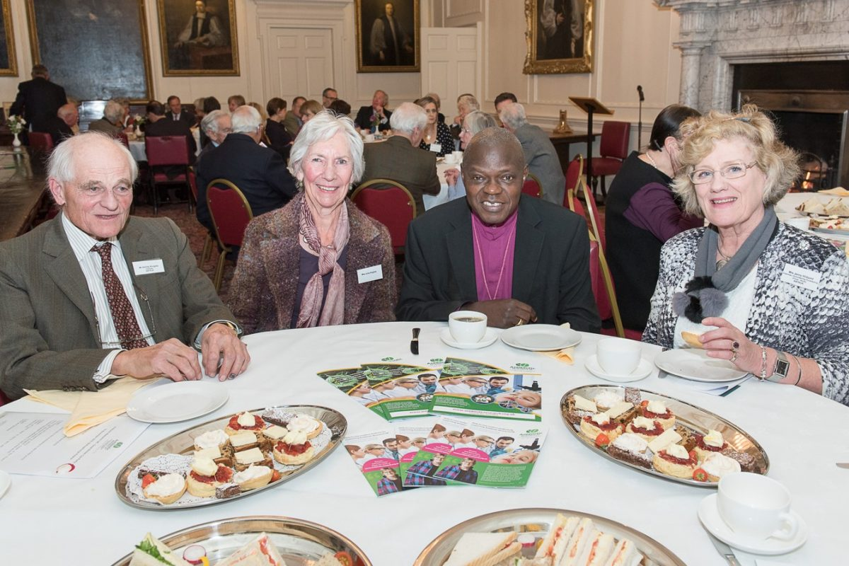 Bishopthorpe Palace GBTP with Archbishop of York and guests