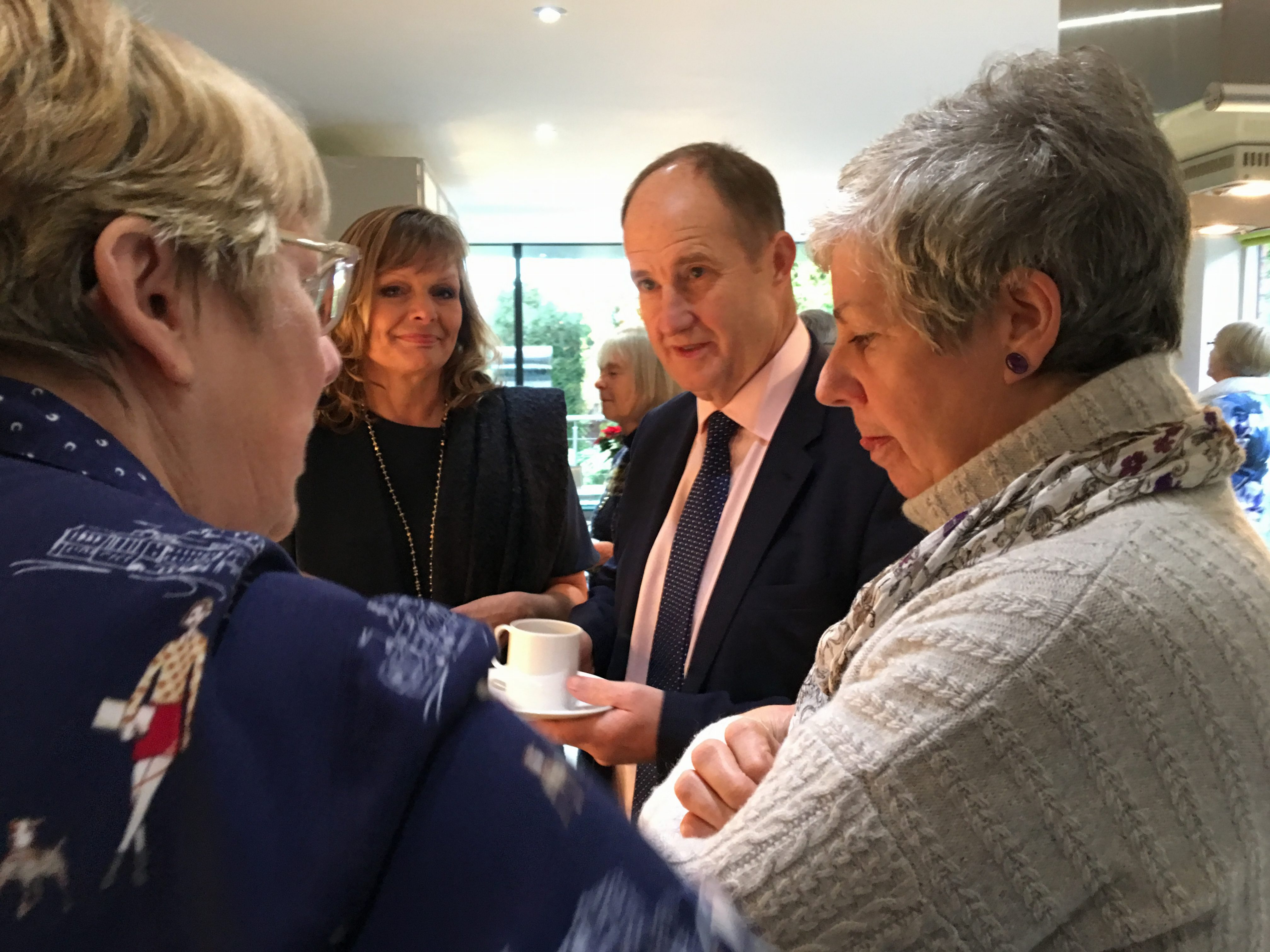 Kevin Hollinrake MP and wife Nikki with other guests at a 2016 GBTP