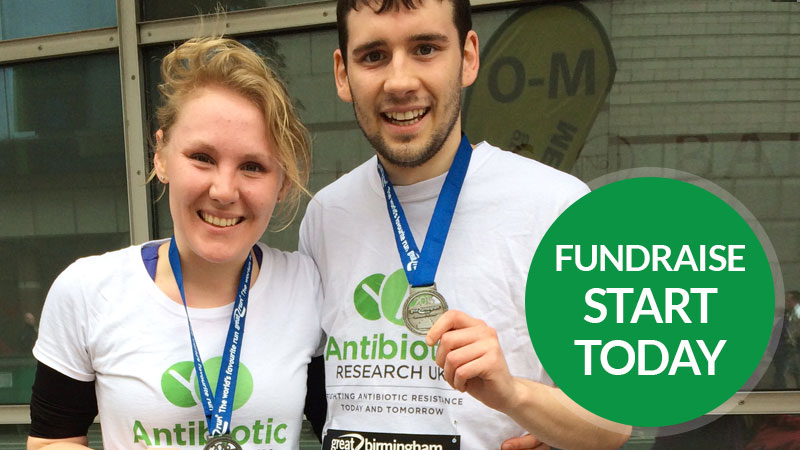 Fundraise for Antibiotic Research UK