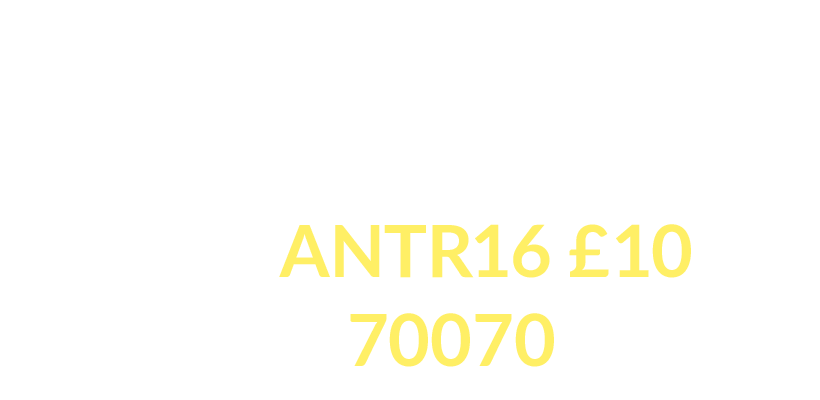 Please help us to save modern medicine. Text 'ANTR16' £10 to 70070