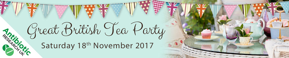 The Antibiotic Research UK Great British Tea Party 2017 - 18th November 2017