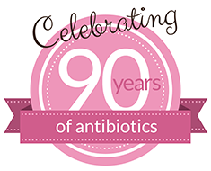 90th anniversary of antibiotics