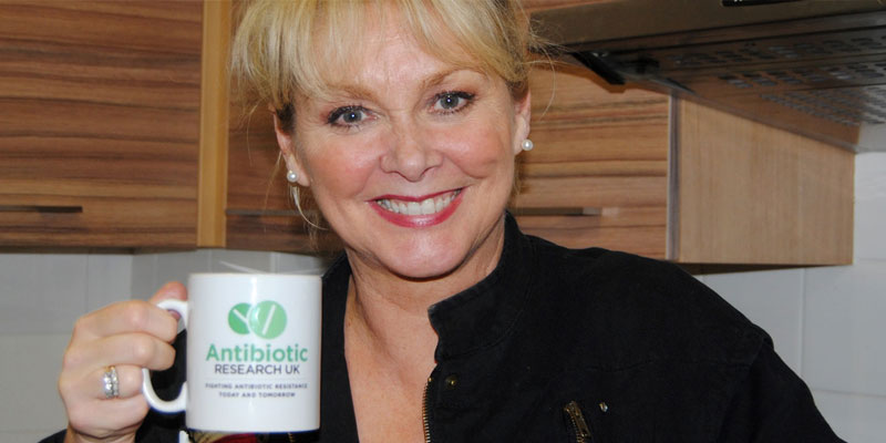 Cheryl Baker supports Antibiotic Research UK