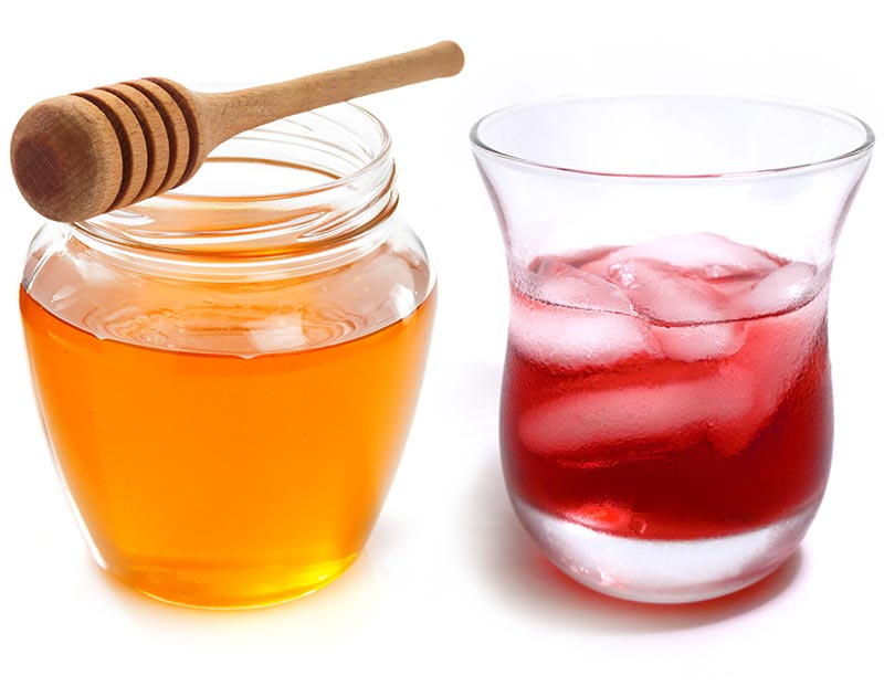 manuka honey and cranberry juice