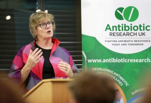 Dame Sally Davies talking about pharmaceutical investment in antibiotic research