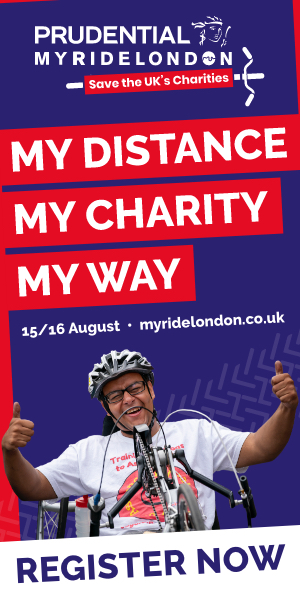 MyRideLondon – Get on your bike on the 15th and 16th August to support Antibiotic Research UK