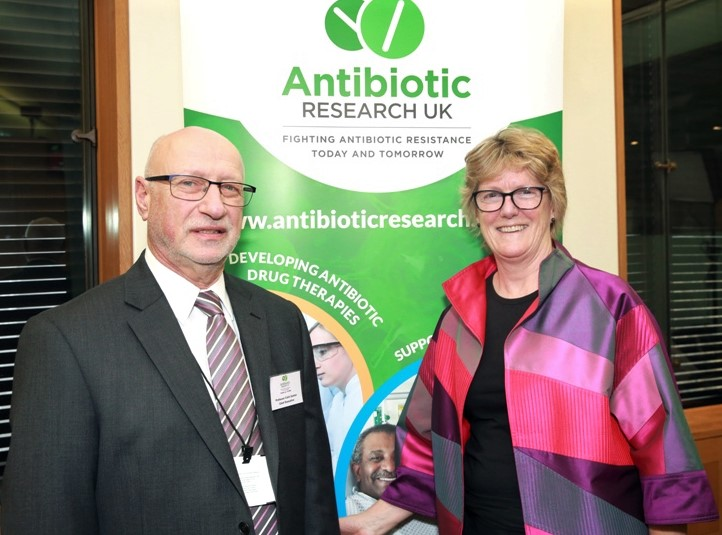 campaigners fighting against antimicrobial resistance