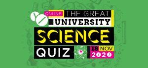 The Great University Quiz logo