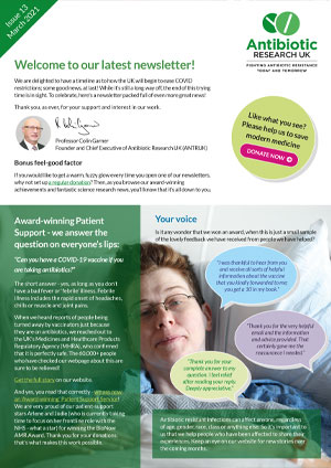 Antibiotic Research newsletter - Issue 13