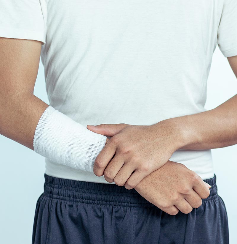 Laceration at risk of bloodstream infection