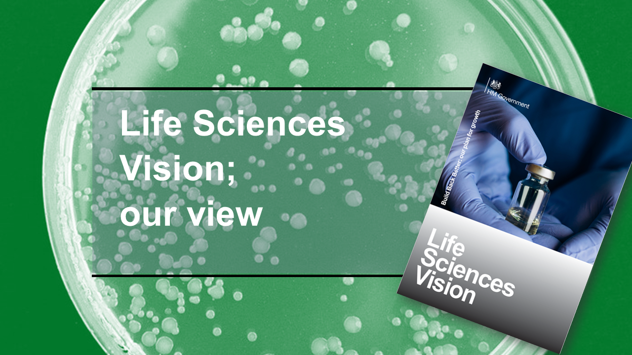 Life Sciences Vision - our view