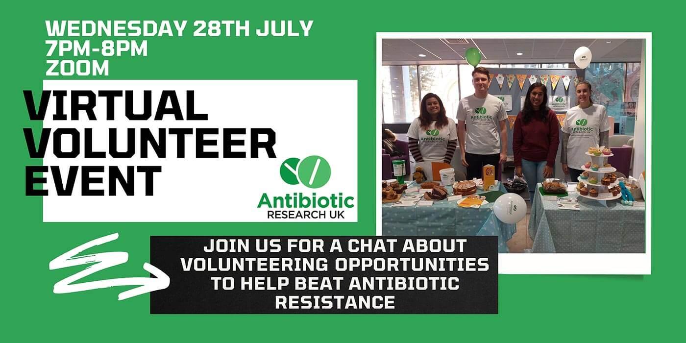 Virtual volunteer event 28 July 2021